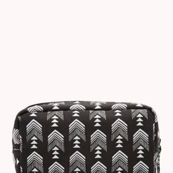 Midsize Tribal Print Cosmetic Pouch