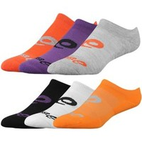ASICS® Invasion No Show 6 Pack Socks - Women's