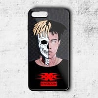 XXXTentacion xxx Skull Luxury Pattern Fit Hard Case for iPhone 6 6s 7+ 8+ Cover