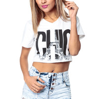 Parisian Chic Crop Top