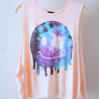 Happy Galaxy Muscle Tee (MORE COLORS)