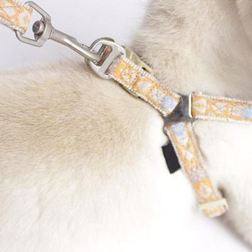 Bohemian Print Harness and Leash Set