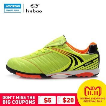 TIEBAO Outdoor football sock boots men's ankle football boots soccer cleats ankle superflys football shoes
