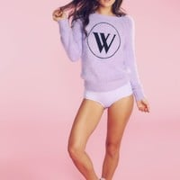 Wildfox Logo Party Sweater