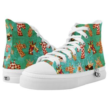 Unicorn Food High-Top Sneakers