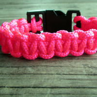 Paracord Bracelet,  Survival Bracelet, 325 Paracord, Women's