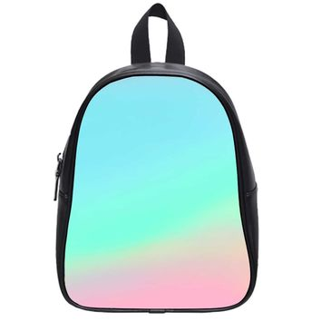 Colorful Pastel School Backpack Large