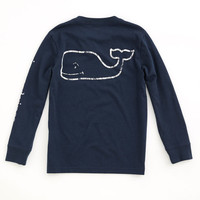 Boys Long-Sleeve Vintage Graphic T-Shirt