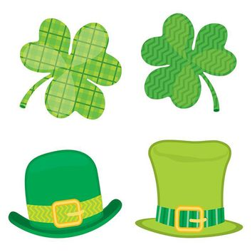 St Patricks Day Mini Cutout Gr Pk-5