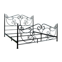Dark Bronze Metal Bed