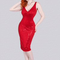 Bombshell Red  | Bettie Page Clothing