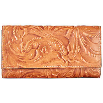 Patricia Nash Burnished Tooled Terresa Wallet | macys.com