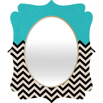 Bianca Green Follow The Sky Quatrefoil Mirror