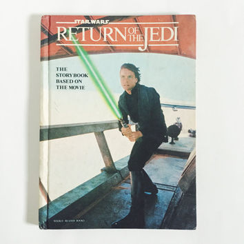 Vintage, Weekly Reader, Return of the Jedi, Star Wars, 1983, Hardcover, Book