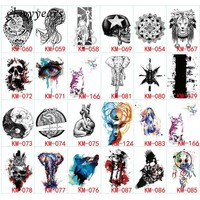 Tattoo lion Temporary Waterproof Tattoo Sticker