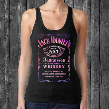 galaxy jack daniels black tank top For Women,Men tanktop # Size S M L XL XXL XXXL