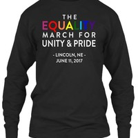 THE EQUALITY MARCH LINCOLN NE SHIRT