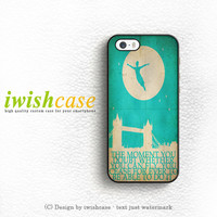 Peter Pan And Tinkerbell With Tattoo iPhone 5 5S 5C Case Cover