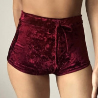 Autumn and winter new women's shorts with tight-fitting hip pants