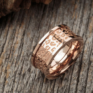Vitaly - Cheetah x Rose Gold Ring