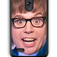 LG G3 Case - Hard (PC) Cover with Mike Myers Austin Powers Plastic Case Design