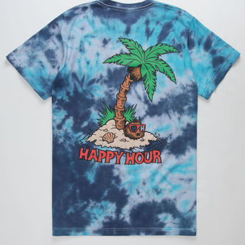 HAPPY HOUR Palm Mens T-Shirt