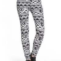 CHEVRON TRIBAL LEGGINGS