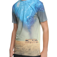 Breaking Bad RV Blue Crystal Sublimation T-Shirt