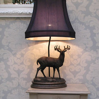 Stag Lamp|Table Lamps|Lighting|French Bedroom Company