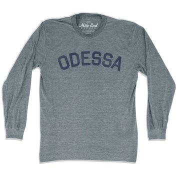 Odessa City Vintage Long-Sleeve T-shirt