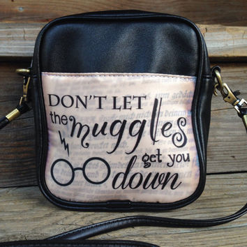harry potter sling bag / muggles / purse / camera bag / day bag