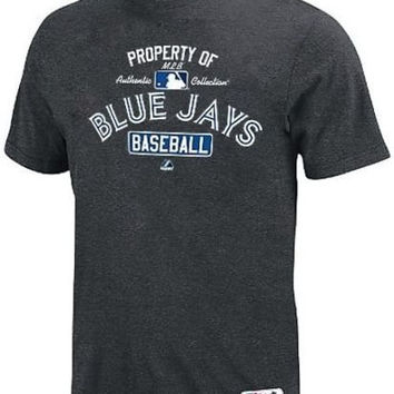Toronto Blue Jays Majestic On Field Property of Authentic Shirt Big & Tall Sizes (3XL)