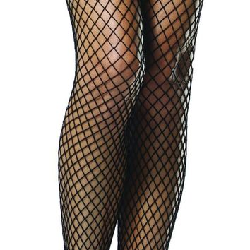 Stockings Fshnt Thihi Bk-bk Bw Costume