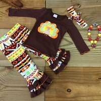 Aztec Flare Turkey Outfit