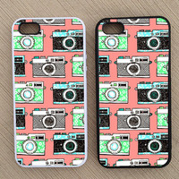 Vintage Retro Camera Pattern iPhone Case, iPhone 5 Case, iPhone 4S Case, iPhone 4 Case - SKU: 218