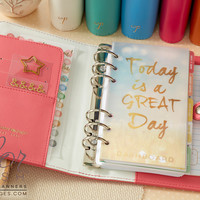 Personal Planner Kit : Light Pink - Personal Planners & Folios - What's New! (Wholesale Only)