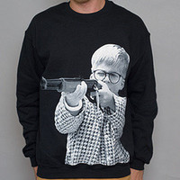 Paper Root Clothing — The OG Ralphie Crewneck Sweatshirt - Black