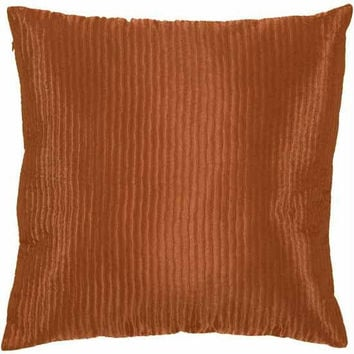 Throw Pillow - Terracotta Rust
