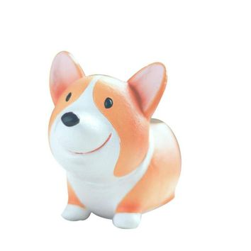 Cute Little Legs Corgi Vase Figurines Home Cute Zakaka  Succulents Pots Floral vase Hosehold Decor Vase Rural  Animal Vases