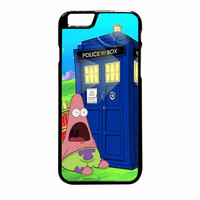 Patrick Star Tardis Dr Who iPhone 6 Plus Case