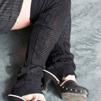 Socks By Sock Dreams  » Socks » Super Long Crochet Leg Warmers