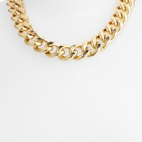 Women's Nordstrom Curb Link Collar Necklace