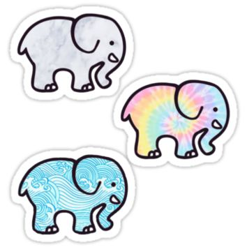 Ivory Ella - Tri Pack Stickers by authenticity