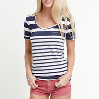 Nollie Scoop Neck Tee at PacSun.com