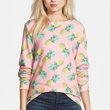 Women's Wildfox 'Pineapple Palace' Sweatshirt,