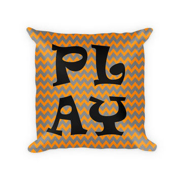 Play II Children's Woven Cotton Throw Pillow