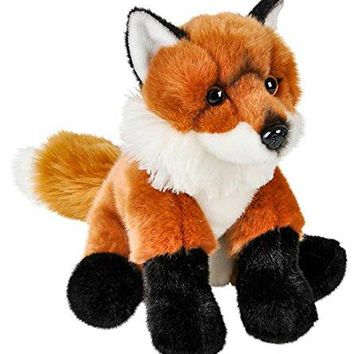 "Wildlife Tree 12"" Stuffed Red Fox Plush Floppy Animal Heirloom Collection"