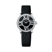 Tiffany & Co. -  Atlas® cocktail watch in 18k white gold with diamonds, quartz movement.
