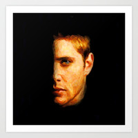 Dean Winchester / Supernatural - Painting Style Art Print by ElvisTR