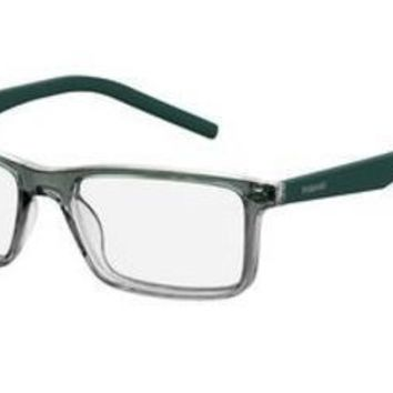 Polaroid - Pld D336 Gray Green Eyeglasses / Demo Lenses